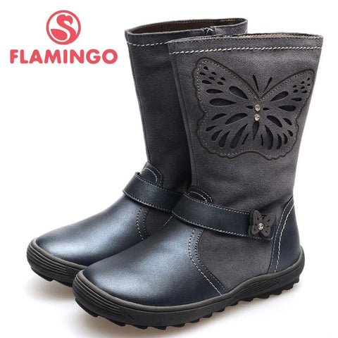 Girls' Winter Boots FLAMINGO 100% Russia Famous - Gkandaa.net