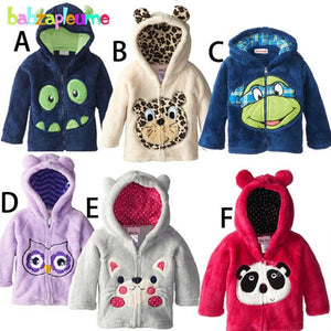 Boys Sweaters jackets Cute Outerwear Hooded Girl Coats 0-5Years-GKandaa.net