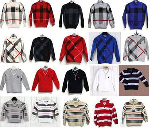 Boys Sweaters cotton winter 21 colors-GKandaa.net