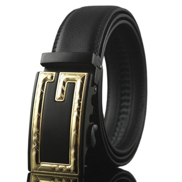 Men's Belts genuine leather high quality automatic-GKandaa.net