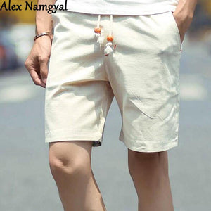 Men's Shorts Summer Solid Color Beach - Gkandaa.net