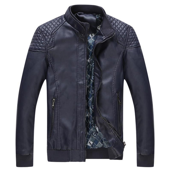 Men's Leather Jackets high quality casual-GKandaa.net