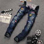 Men's Jeans Casual Elastic pants Fit-GKandaa.net