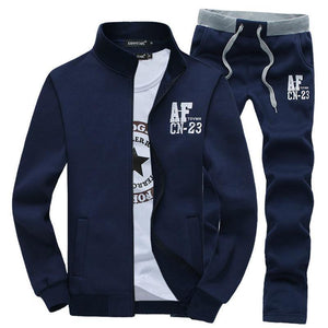 Men's Hoodies hooded +Pants Jogging Costume 2pcs Set M-4XL-GKandaa.net
