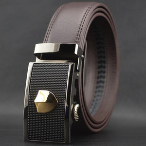 Men's Belts Casual Male fashion genuine leather automatic waist-GKandaa.net