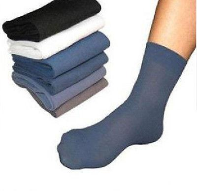 Men's Socks 10 Pair Fiber White Middle-GKandaa.net
