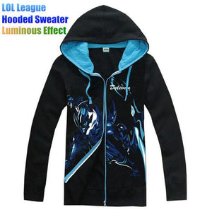 Men's Hoodies Hoodies Plus Velvet luminous Light Night-GKandaa.net