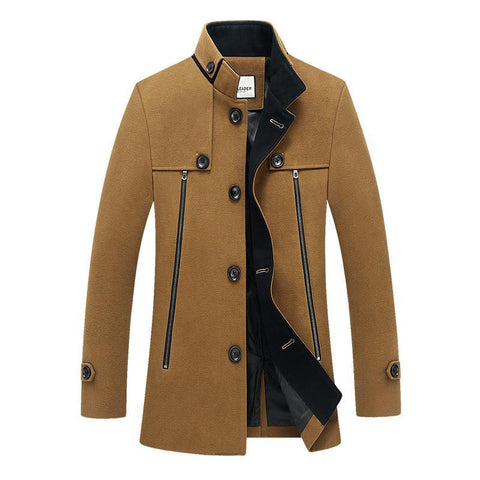 Men's Coats Jackets winter big yards leisure collar-GKandaa.net