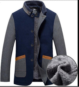 Men's Coats Jackets Winter Wool Blends-GKandaa.net