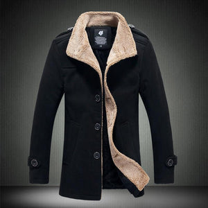 Men's Coats Jackets Winter cultivate collar-GKandaa.net
