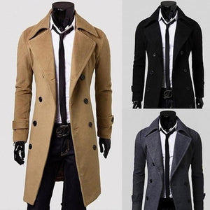 Men's Coats Jackets premium warm high quality long-GKandaa.net