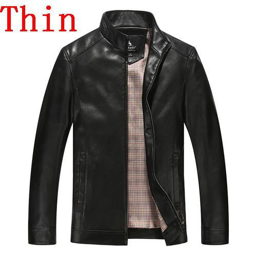 Men's Leather Jackets Coats Male Big Size-GKandaa.net