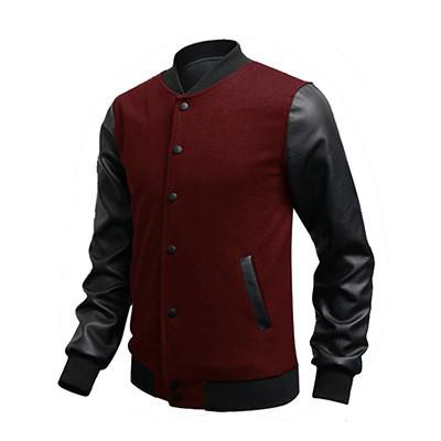 Men's Leather Jackets Casual Wear Casual Coat Large Size-GKandaa.net