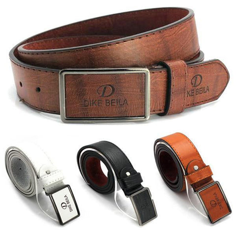 Men's Belts Casual Luxury Leather Automatic Waist Strap-GKandaa.net