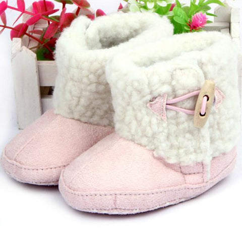 Girls' Winter Boots cotton Shoes-GKandaa.net