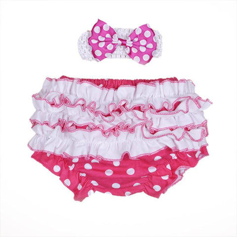 Baby Shorts Bloomer Bloomers Ruffled Diapers-GKandaa.net