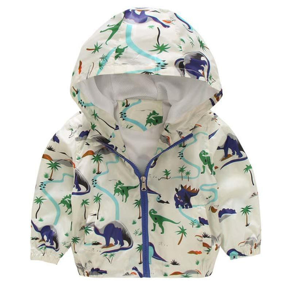 Girls Outerwear Coat 2-5 years Hooded jackets Summer Outwear Sleeve-GKandaa.net