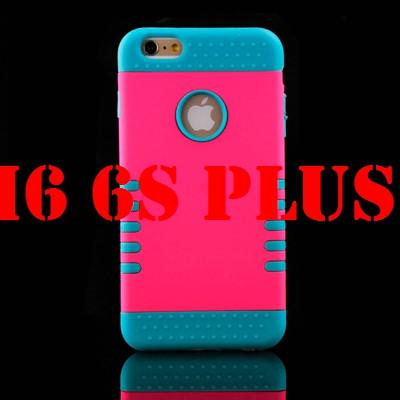 Case Cover for iPhone Luxury 3 in 1 Plastic Hard 6 6S 4.7 / 6 6S-GKandaa.net