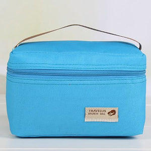 Lunch Box Practical 4 Color Waterproof Cooler Leisure-GKandaa.net