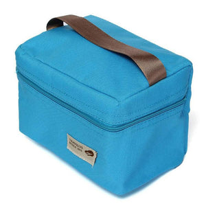 Lunch Box 4 Colors Outdoor Organizer Carry Cooler Storage-GKandaa.net