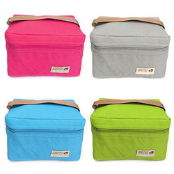 Thermal Cooler Insulated Lunch Box Storage Picnic Bag Portable Travel Tote Pouch - GKandAa - 1