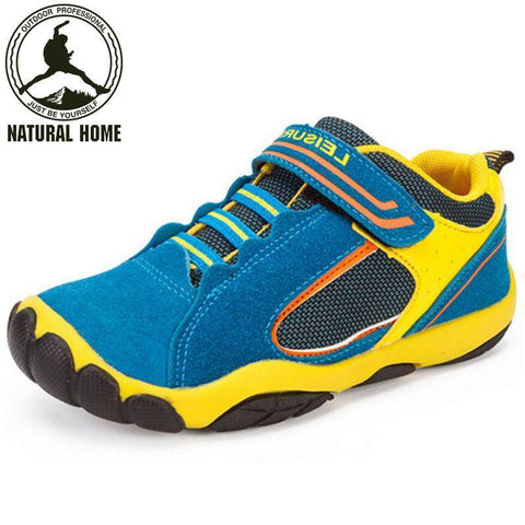 Boys Shoes [Natural] Leather Spring Summer Waterproof Breathable Sport-GKandaa.net