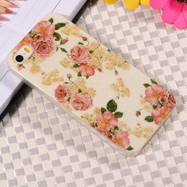 Case Cover for iPhone Rubber TPU Soft 5/5S Mobile 5 5S-GKandaa.net