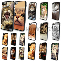 Phone case for Apple iPhone 4 4s Cute Love Cat Animal Printed Hard PC Mobile phone Back cover protector Free shipping WHD744 - GKandAa - 1