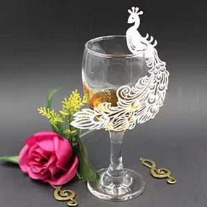 Party Glass Decorative Card-GKandaa.net