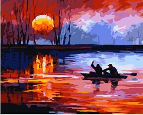 Art Oil Painting Heave 40*50cm picture canvas No Frame-GKandaa.net