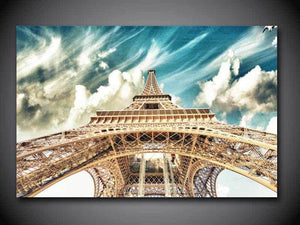 Art Oil Painting 1 Tower canvas Picture No Frame-GKandaa.net