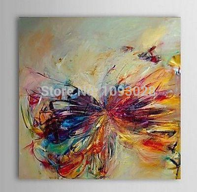 Art Oil Painting Fallout Single Width Sell Butterfly Abstract-GKandaa.net