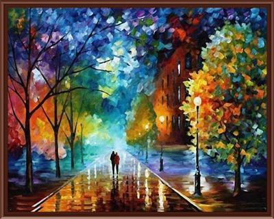 Art Oil Painting 40*50cm DIY o Coloring canvas decoration poster-GKandaa.net