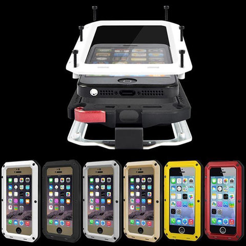 Cell Phone Cover for iPhone 7 6 6S Plus Waterproof Military Heavy Case-GKandaa.net