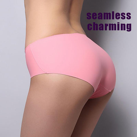 Women's Panties Seamless  10 colors choose Briefs-GKandaa.net
