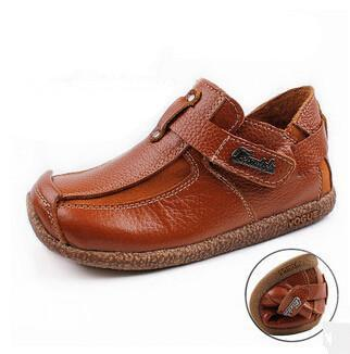 2015 new fashion children shoes Genuine leather shoes boys shoes hot-selling - GKandAa - 1