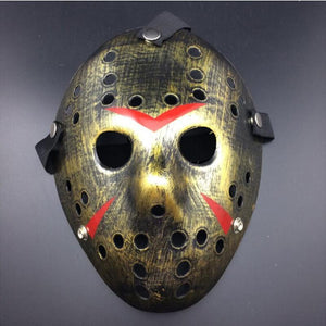 Halloween Mask Jason Friday The 13th Horror Costume Killer-GKandaa.net