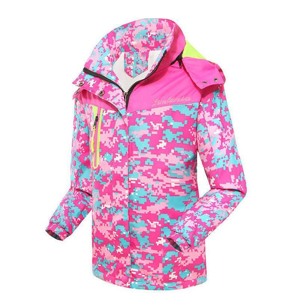 Girls Outerwear Coat Spring jacket Double Waterproof Hooded-GKandaa.net