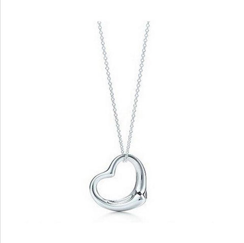Jewelry Popular high quality lace Plated Peach Heart Pendant-GKandaa.net