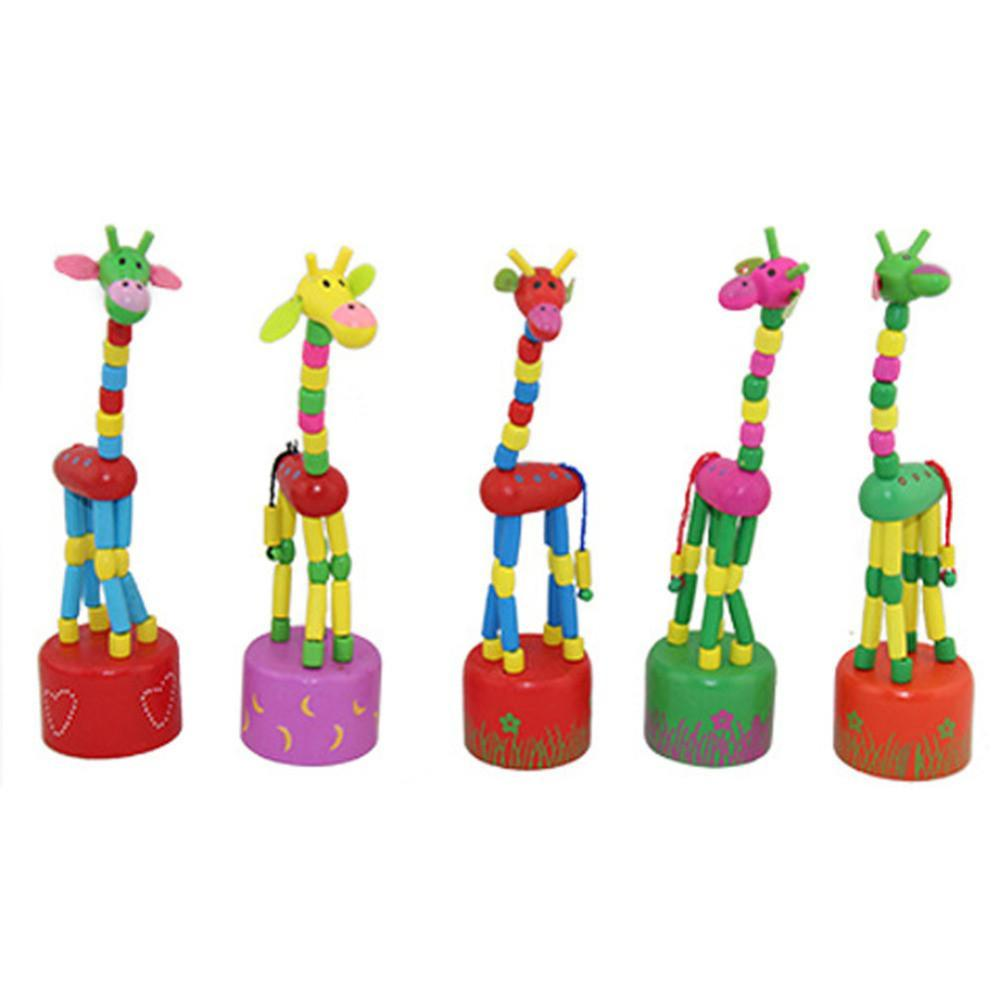 Wooden Baby Toys 18cm Funny Dancing Sting Multi Color-GKandaa.net