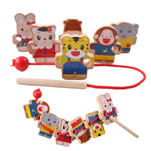 Wooden Baby Toys Beads Game-GKandaa.net