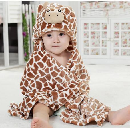 Animal Towels shape hooded bathrobe-GKandaa.net