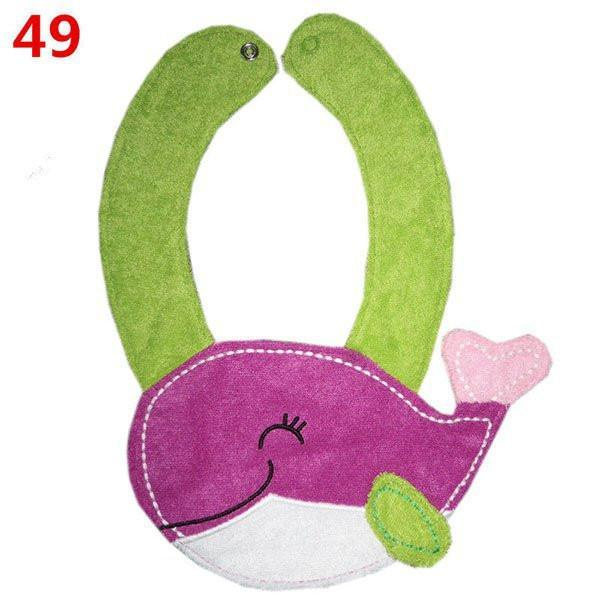 Saliva Towel Bibs cotton Waterproof Luch-GKandaa.net