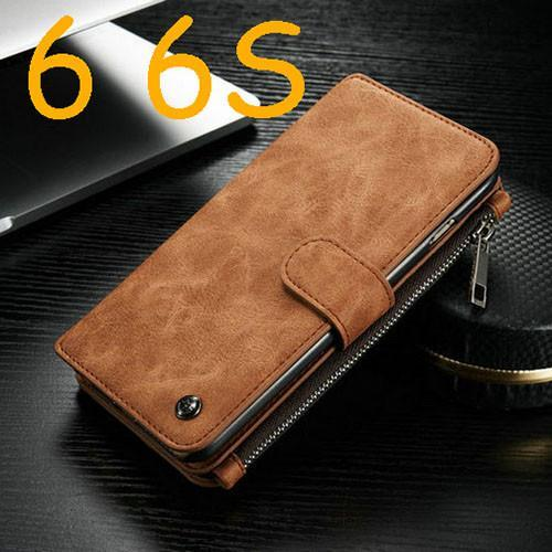 "Case Cover for iPhone i6 6s Leather Wallet 6 6S 4.7 Ich 6S Plus 5.5""-GKandaa.net"
