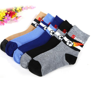 Boys Socks 5 pair /1 spring cotton Foot 1-9 year-GKandaa.net