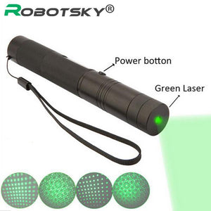 Laser Pointer Pen 10000 mW pe adjustable focus lit match Leisure 303-GKandaa.net