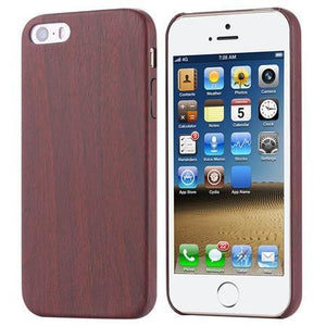 Case Cover for iPhone 5 5 s 7 S 6 Plus Retro vintage Wood Leather-GKandaa.net