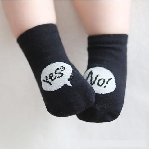 Boys Socks Letter Toddler Cute Floor 0-4 Years Old-GKandaa.net