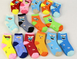 Boys Socks 10 Pairs/Lot cotton Cuts 0-12 Age (Rom Delivery)-GKandaa.net