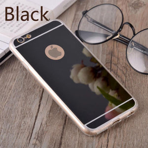 Case Cover for iPhone Luxury Mirror Soft Clear TPU 6 6S 4.7 ich / 7-GKandaa.net